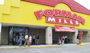 Forman Mills Clothing Factory Warehouse, 3593 Miller Rd., opened its doors July 28.