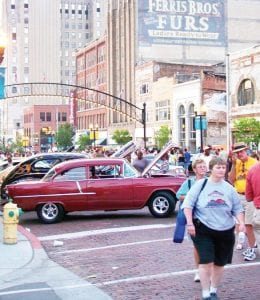 A look at downtown Flint during the 2009 Back to the Bricks.