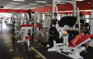 GET FIT — UltiFit, LLC, offers a full, free weight section inside its facility.