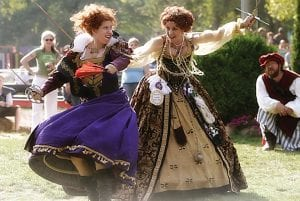 Entertainment acts around the Michigan Renaissance Festival are filled with music and comedy.