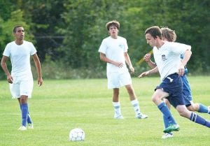Carman-Ainsworth traveled to Kearsley on Tuesday afternoon for a friendly scrimmage.