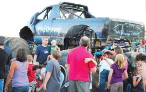 A FAIR TO REMEMBER — Thousands of people visited the Genesee County Fair Grounds for the annual Genesee County Fair. The fair kicked off Aug. 16 with a grandstand show featuring the Michigan Monster Truck Shoot Out, where fans were able to get up close to the trucks. Photos by Natalie Blythe
