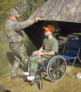 Adaptive equipment gives those with medical or physical challenges the opportunity to continue hunting and shooting sports.