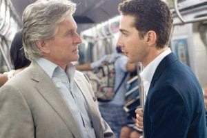 Photo courtesy of 20th Century Fox WALL STREET: MONEY NEVER SLEEPS — Michael Douglas and Shia LeBeouf.
