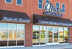 Olio's Cafe & Grill Italian Cuisine, 1072 Elms Rd., opened its doors to hungry customers Aug. 23.