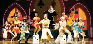 The cast of Monty Python's Spamalot.