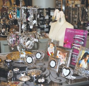 Another favorite line at the store is Brighton, including a large selection of Brighton jewelry.