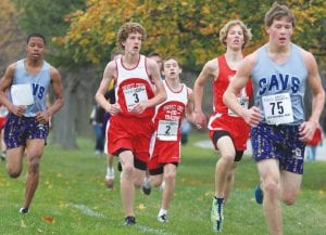 Carman-Ainsworth runners put their best foot forward at the Div. 1 regional last Saturday, but failed to qualify for the state meet.
