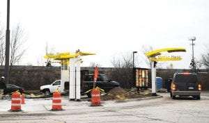 The Swartz Creek McDonald's, 4237 Elms Rd., recently added an additional drive-thru lane. The restaurant currently will be undergoing renovations and will unveil its new look around Jan. 4.