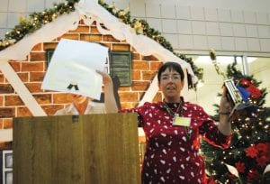 Volunteer Lana Lindsley was named the 2010 Volunteer of the Year by the Genesee County Humane Society at its Fourth Annual Volunteer Appreciation Holiday Banquet Dec. 2.