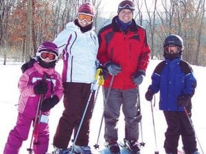 Families are adopting skiing and snowboarding as a way to stay connected.