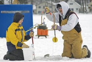 Ice anglers are looking to get out on the lakes, but are cautioned to tread carefully.
