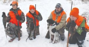Kids from the tri-county area enjoyed pheasant-hunting last Saturday.