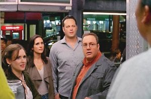 THE DILEMMA — from left: Winona Ryder, Jennifer Connelly, Vince Vaughn and Kevin James.