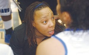 Johnese Vaughn has coached the Lady Cavs to a 9-9 record, including their first win over Powers Catholic since 2005.