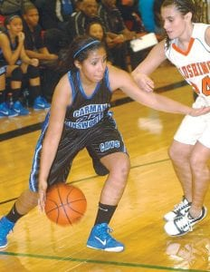 Jasmine Jones and the Lady Cavs just couldn't get past Flushing this year.