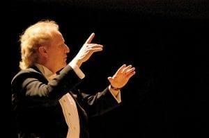 Maestro Enrique Diemecke of the Flint Symphony Orchestra.