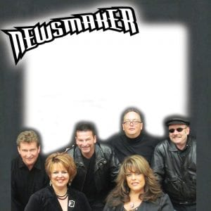 Newsmaker consists of vocalist Kori Roberts, vocalist Dottie Allen, guitarist Dennis Briggs, drummer Perry Joseph, bassist Jack Regis and keyboardist Brad Norman.