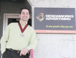 Chirs McDonald, principal/creative director of Designworks.