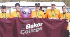 The Baker College Marathon Relay Team