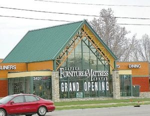 Lapeer Furniture & Mattress Center has relocated to the former Peerless Mattress & Furniture at 3437 Miller Rd.