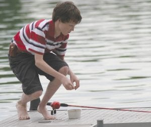 Area youngsters can learn how to fish properly at free clinics.