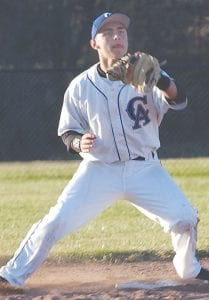 Carman-Ainsworth's Justin Hubbard made a infield.