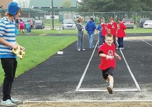 This runner took part in the Special Olympics hled May 20 at Carman- Ainsworth Middle School.
