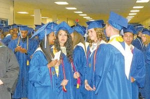 The Carman-Ainsworth High School Class of 2011 held commencement exercises June 2 at Perani Arena in Flint. The 345-member class celebrated graduation with a band, speeches and the traditional handing out of diplomas.