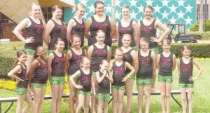 Dancers from Smooth Steps Dance and Gymnastics who returned recently from Orlando, Fla.