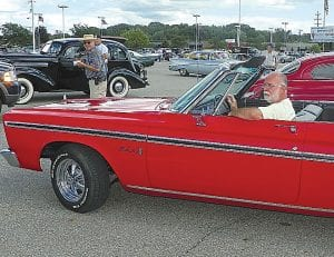 This 1965 Plymouth Belevedere won the Patsy Lou Williamson's Choice trophy in the Favorite Car contest at the BTTB Tune-Up event in Flint Township. For more from the event see page 12.