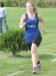 Cassandra Pelkey has been one of the Cavaliers' top runners this season.