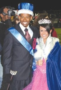 — The Carman-Ainsworth Homecoming king and queen were Jalen Walker and Kylie Schneider. More photos from the parade are on page 12 of today's Flint Township VIEW.