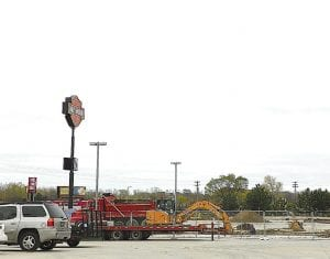 Construction is under way on a warehouse at the Vehicle City Harley Davidson complex after recently getting site plan approval from the township Planning Commission.