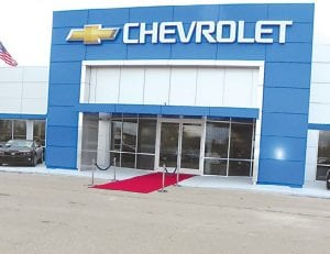 Patsy Lou Williamson Chevrolet rolled out the red carpet Thursday at a gala VIP and public grand reopening reception for the new remodeled dealership.