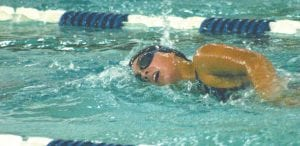 Patricia Hrit helped the Lady Cavs place second at the Big Nine meet.