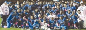 The Carman-Ainsworth varsity football team won the final Big Nine Conference football championship, and qualified to compete in the MHSAA season-ending championship tournament.
