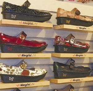 Shoe Prints, 4205 Miller Rd. in the Valley Plaza, carries a large assortment of shoes