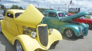 These classic cars were on display in Aug. 10 at Patsy Lou Williamson's dealership in Flint Township as part of a Back to the Bricks Tune Up event. Flint Township was just one of the places the annual classic car venue included in 2011.