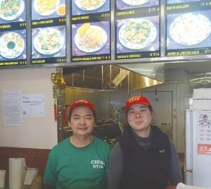 Yike Huang and his wife Juan Fang Chen, owners of China Star, 9061 Miller Rd., in Swartz Creek.