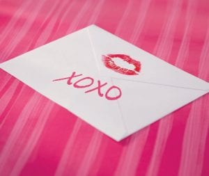 Gone are the days where Valentine's Day notes were handwritten. Today we rely more on mass-produced greeting cards.