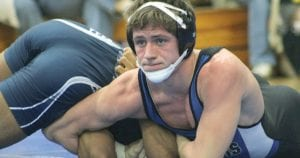 Jake Weissend stayed undefeated at 54-0 this year.