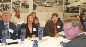 Flint Township Supervisor Karyn Miller was among reps from participating municipalities in four counties who met last week to sign an interlocal agreement to create an aerotropolis board.