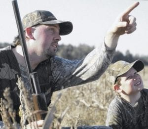 Kids under the age of 10 can now hunt with a mentor.