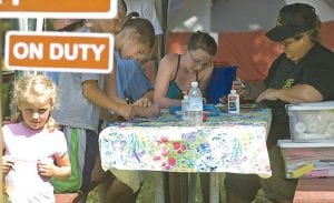 Campground hosts offer a bevy of activities to campers.