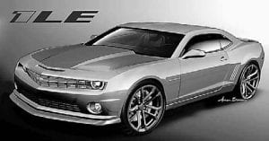 The 1LE package is distinguished by its matte-black hood, front splitter and rear spoiler. The 2013 Camaro 1LE offers a package that improves its road-racing performance. The 1LE model starts under $40,000.
