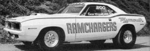 Chrysler's mid-20th century Ramchargers team developed drag racers after work at night and then raced them on weekends.