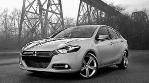 Last week, Dodge announced five trim levels, and pricing, for the 2013 Dart. The lowest trim level is the Dart SE, out the door at $15,995, above. The others are SXT, Rallye, Limited and R/T.