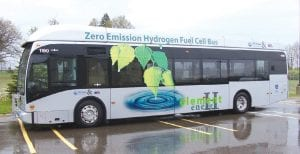 The MTA is the first transportation agency in the Midwest with a hydrogen fuel cell vehicle.