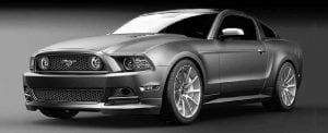 """Ford fans voted for their favorite Mustang/SEMA car concept from a group of entries created by female designers. Jennifer Seely of Ford Motor Co designed the winning Mustang concept, known as """"High Gear."""""""